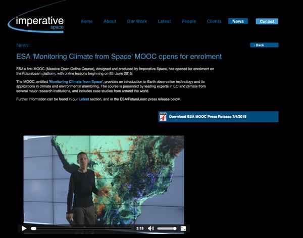 Imperative Space Website